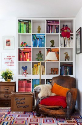 Modern Vibrant Rooms Reading Ideas 25