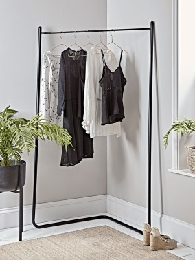 Stunning Clothes Rail Designs Ideas 22