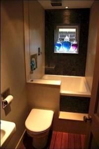 Awesome Bathroom Shower Ideas For Tiny House 29