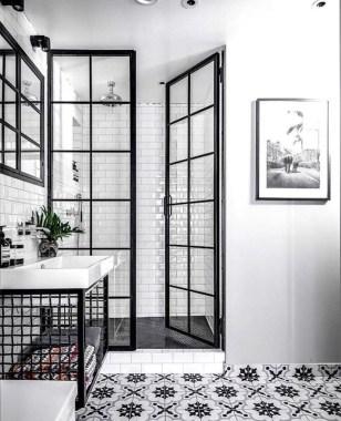 Awesome Bathroom Shower Ideas For Tiny House 53