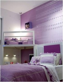 Cute Love Blue Ideas For Teenage Bedroom 03