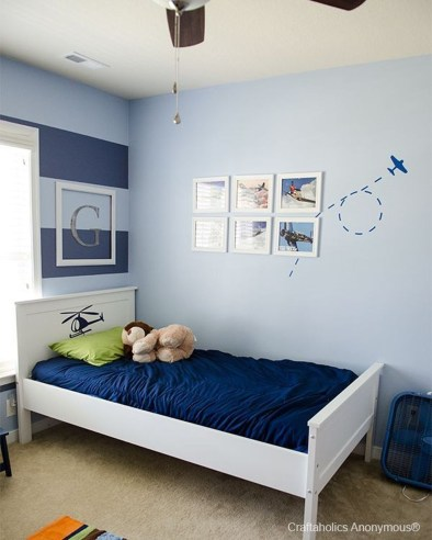 Cute Love Blue Ideas For Teenage Bedroom 10