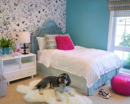 Cute Love Blue Ideas For Teenage Bedroom 29