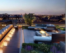 Stunning Roof Terrace Decorating Ideas That You Should Try 09