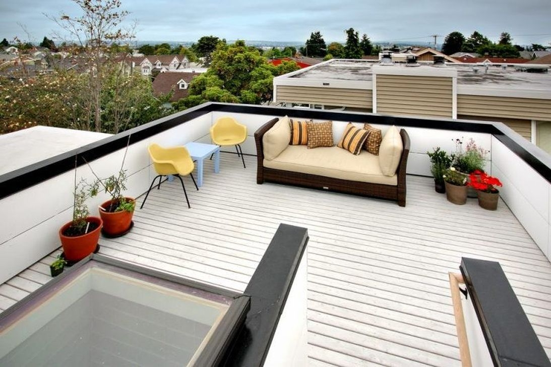 Stunning Roof Terrace Decorating Ideas That You Should Try 24