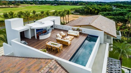 Stunning Roof Terrace Decorating Ideas That You Should Try 42