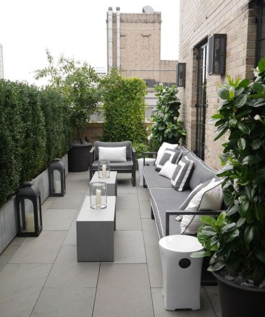 Stunning Roof Terrace Decorating Ideas That You Should Try 46