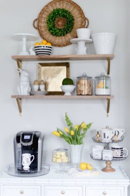 Affordable Diy Mini Coffee Bar Design Ideas For Home Right Now 24