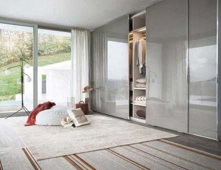 Amazing Sliding Door Wardrobe Design Ideas 34