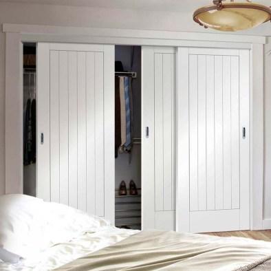 Amazing Sliding Door Wardrobe Design Ideas 41