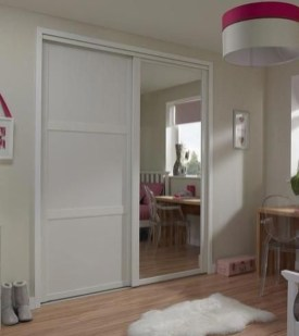 Amazing Sliding Door Wardrobe Design Ideas 49
