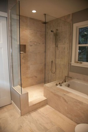 Relaxing Master Bathroom Shower Remodel Ideas 25