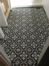 Unusual Diy Painted Tile Floor Ideas With Stencils That Anyone Can Do 48