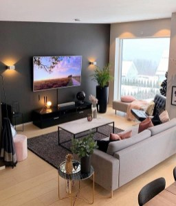 Attractive Small Living Room Decor Ideas With Perfect Lighting 02
