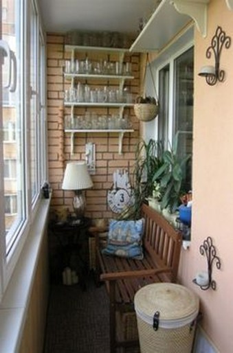 Casual Small Balcony Design Ideas For Spring This Season 35