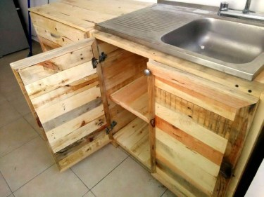 Chic Diy Projects Pallet Kitchen Design Ideas To Try 05
