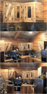 Chic Diy Projects Pallet Kitchen Design Ideas To Try 28