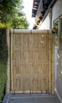 Dreamy Bamboo Fence Ideas For Small Houses To Try 23