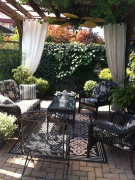 Elegant Backyard Patio Design Ideas For Your Garden 24
