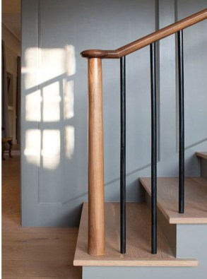 Gorgeous Wooden Staircase Design Ideas For Branching Out 56