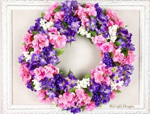 Hottest Summer Wreath Design And Remodel Ideas 34