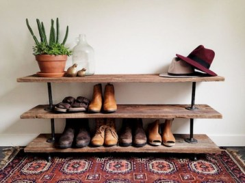 Latest Shoes Rack Design Ideas To Try 24