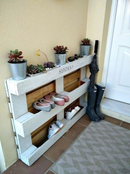 Latest Shoes Rack Design Ideas To Try 38