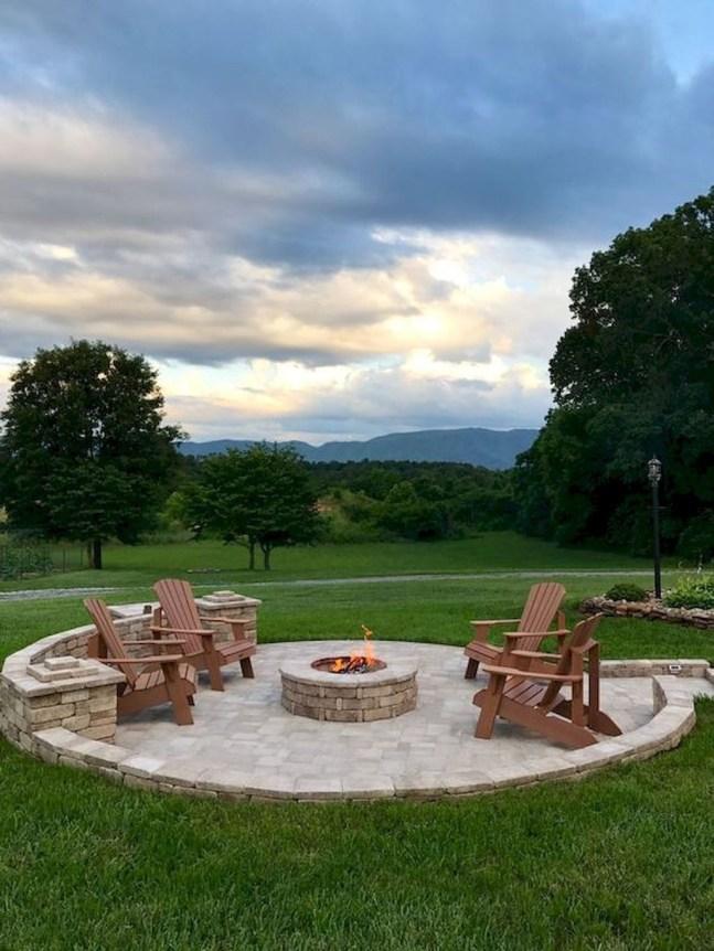 Newest Backyard Fire Pit Design Ideas That Looks Great 47