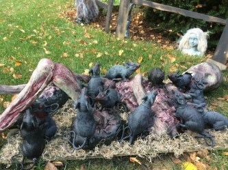Newest Diy Outdoor Halloween Decor Ideas That Very Scary 09