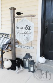 Newest Diy Outdoor Halloween Decor Ideas That Very Scary 21