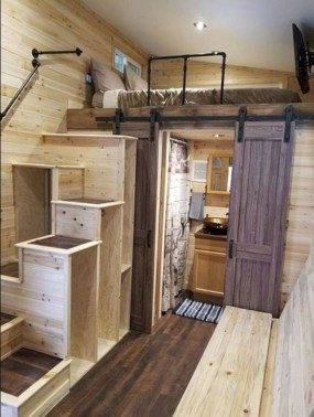 Rustic Tiny House Interior Design Ideas You Must Have 06