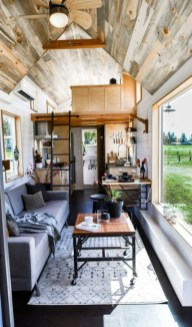 Rustic Tiny House Interior Design Ideas You Must Have 48