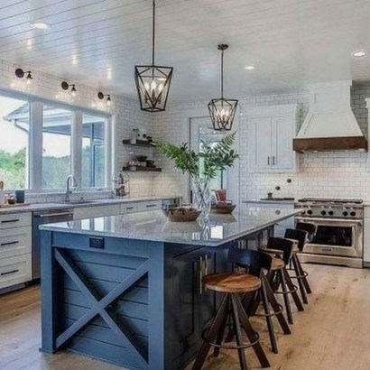 Trendy Fixer Upper Farmhouse Kitchen Design Ideas 03