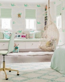 Vintage Girls Bedroom Ideas For Small Rooms To Try 10