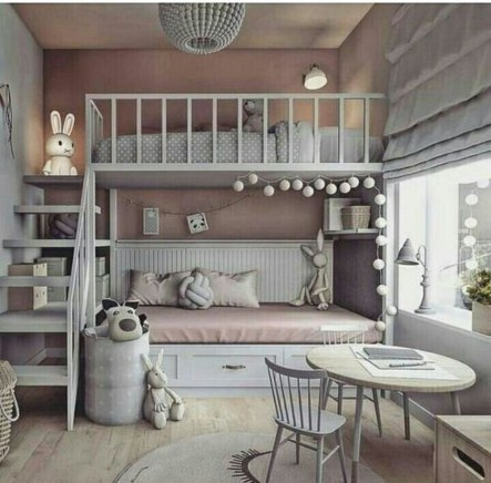 Vintage Girls Bedroom Ideas For Small Rooms To Try 16