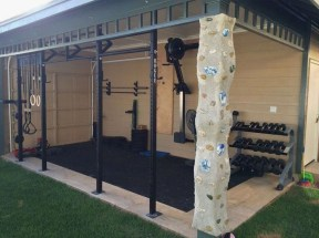 Astonishing Home Gym Room Design Ideas For Your Family 37
