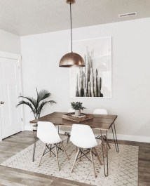 Oustanding Diy Decor Ideas To Upgrade Your Dining Room 41