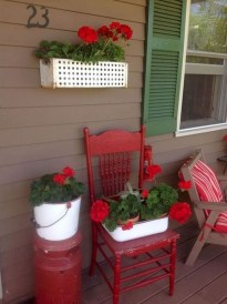 Perfect Porch Planter Design Idseas That Will Give Your Exterior A Unique Look 42
