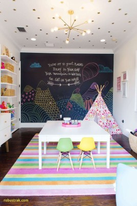 Pretty Playroom Design Ideas For Childrens 08