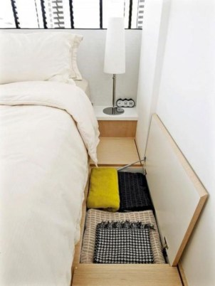 Spectacular Diy Bed Design Ideas That Suitable For Small Space 42