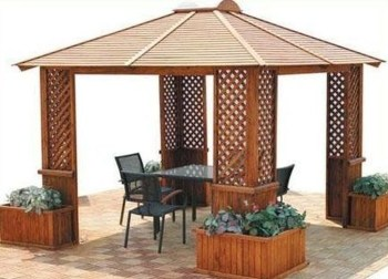 Stylish Gazebo Design Ideas For Your Backyard 43