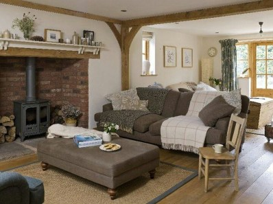 Amazing Country Living Room Design Ideas40