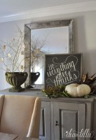 Awesome Dining Room Buffet Table Décor Ideas13