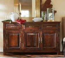 Awesome Dining Room Buffet Table Décor Ideas18