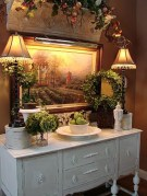 Awesome Dining Room Buffet Table Décor Ideas21