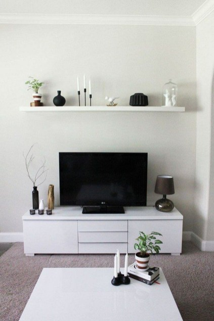 Gorgeous Cabinet Design Ideas For Small Living Room18