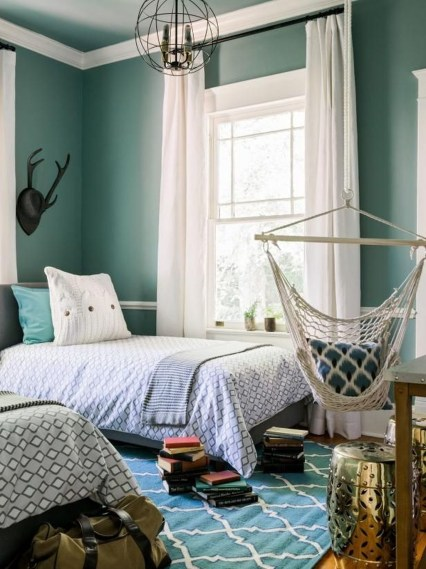 Totally Inspiring Inexpensive Bedroom Décor Ideas38