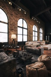 Adorable Loft Apartment Decor Ideas29