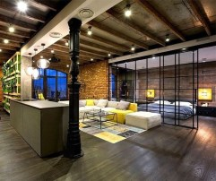 Adorable Loft Apartment Decor Ideas34