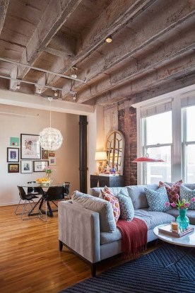Adorable Loft Apartment Decor Ideas36